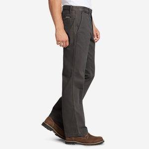 Eddie Bauer Dk Slate Classic Fit Legend Wash Pants